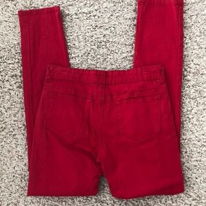 Be-Girl Jeans - Women's Red Jeans